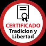 Certificado libertad logo